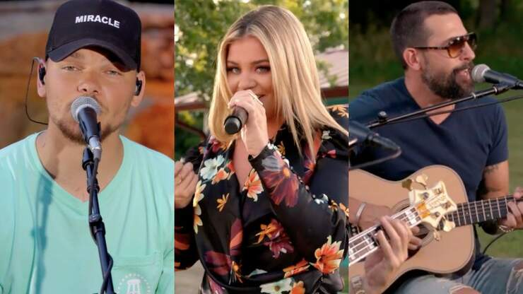 Kane Brown, Lauren Alaina & Old Dominion Perform During 4th of July BBQ