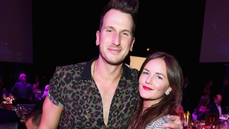 Russell Dickerson Shows Off Wife's Growing Baby Bump In New Photo