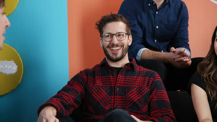 Why Andy Samberg Stepped Out of His Comfort Zone and Made 'Palm Springs'