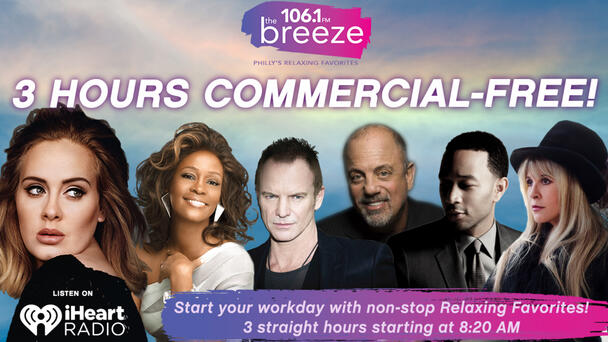 3 HOURS Commercial Free Every Weekday @ 8:20a!