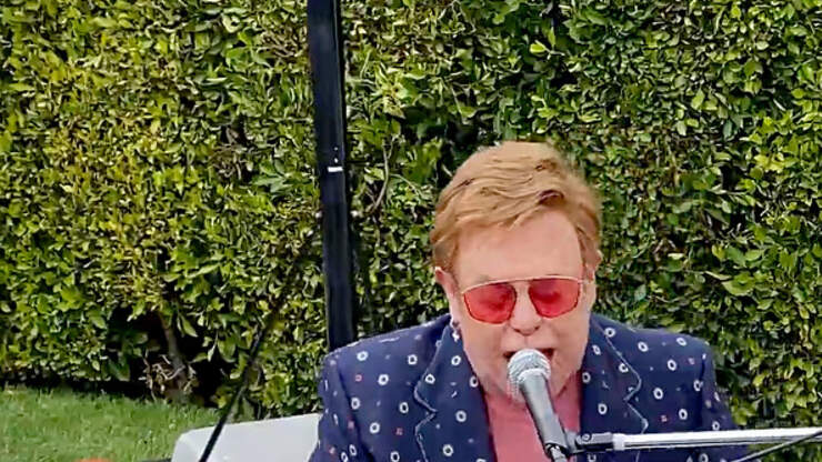Elton John Celebrated With Very Own UK Coin
