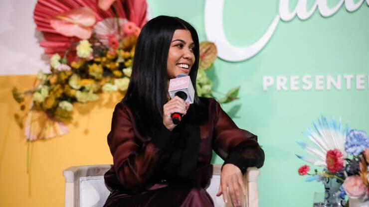 Kourtney Kardashian Talks About Staying 'Present' With Her 3 Kids