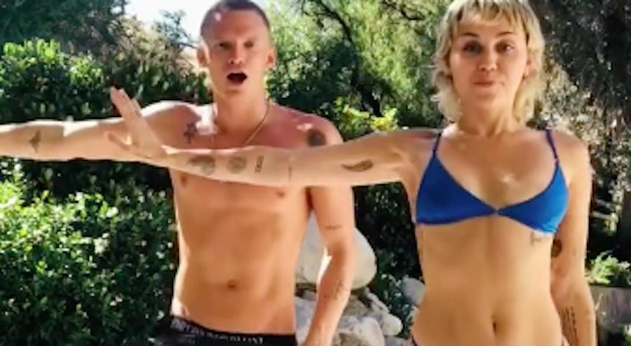 Miley Cyrus & Cody Simpson's Choreographed TikTok Dance Is Everything