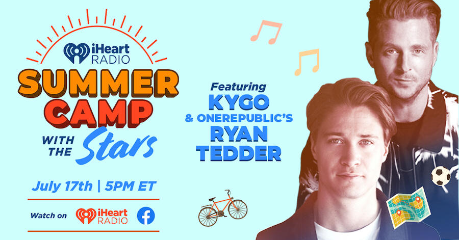 Kygo & Ryan Tedder to Give Exclusive Performance on 'Summer Camp' Series