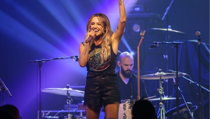 Carly Pearce Is Back In The Studio: 'Pouring My Heart Into These New Songs'