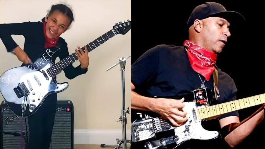 10-Year-Old Girl Plays Audioslave Song With Guitar Gifted By Tom Morello