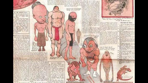 Illustration of Martians