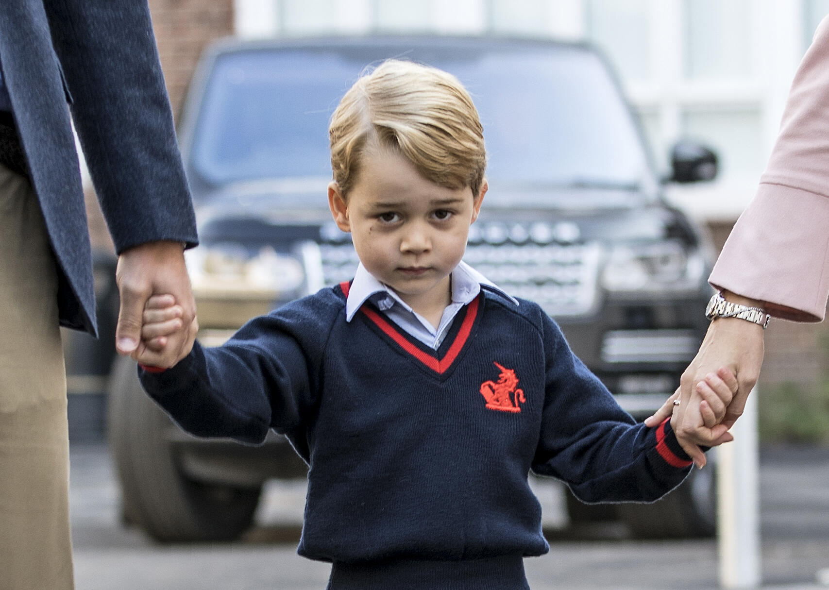 We Dare You Not to Smile Over Prince George's Latest Birthday Portraits