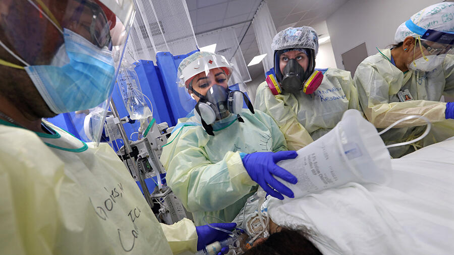 Johns Hopkins: US marks second day with 70,000-plus new virus cases