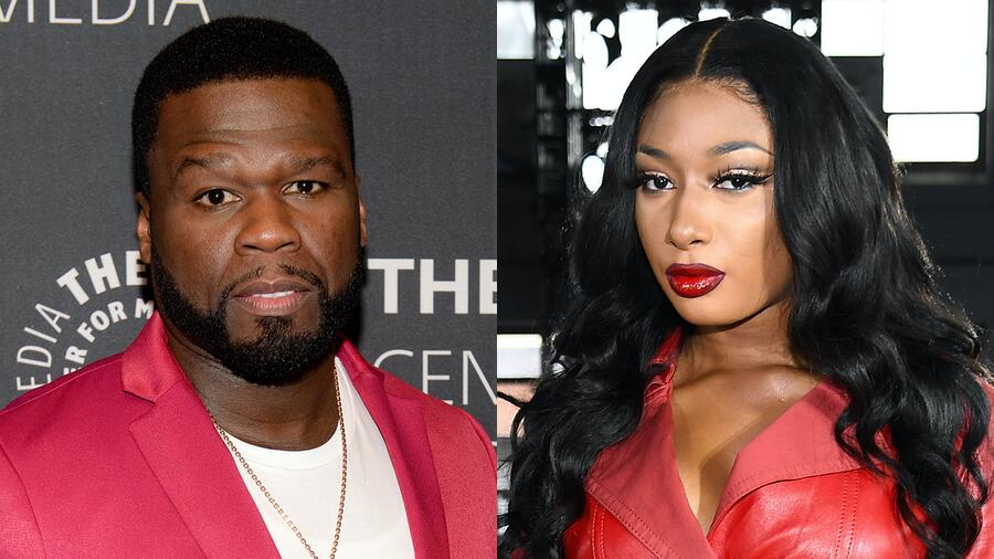 50 Cent Apologizes To Megan Thee Stallion For Mocking Shooting Incident