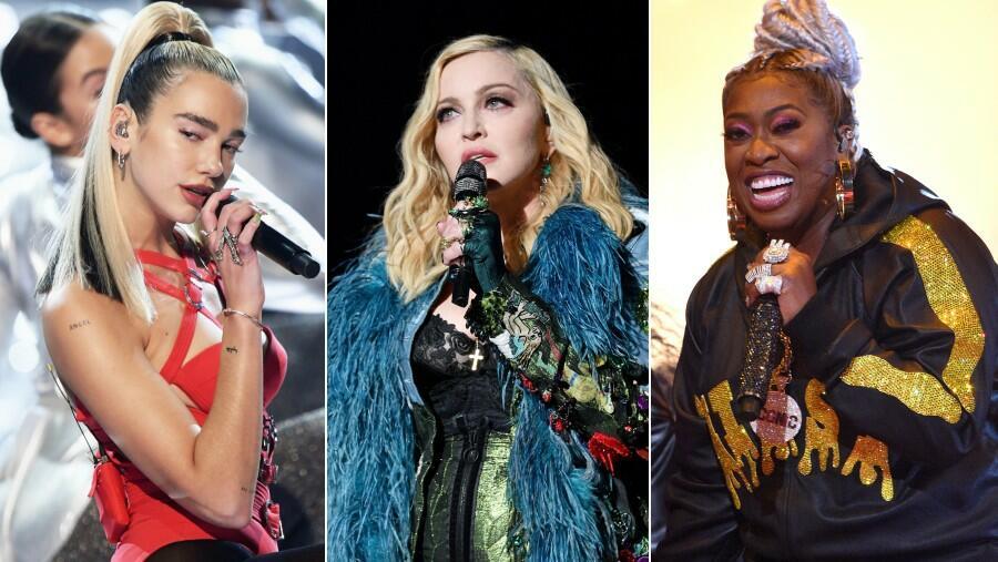 Dua Lipa Announces 'Levitating' Remix With 'Idols' Madonna & Missy Elliott