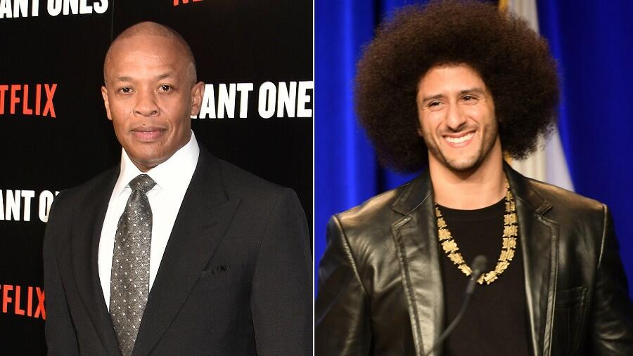 Dr. Dre Takes A 'Defiant' Knee With Colin Kaepernick