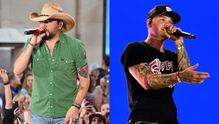 Jason Aldean Helps Tattoo Kane Brown During At-Home 'Tattoo Party'