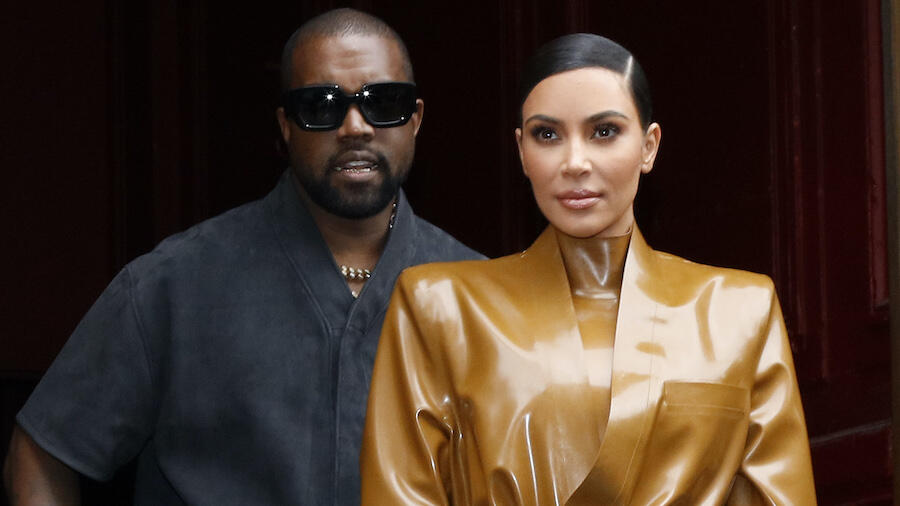 Kim Kardashian and Kanye West have been 'living apart for a year'
