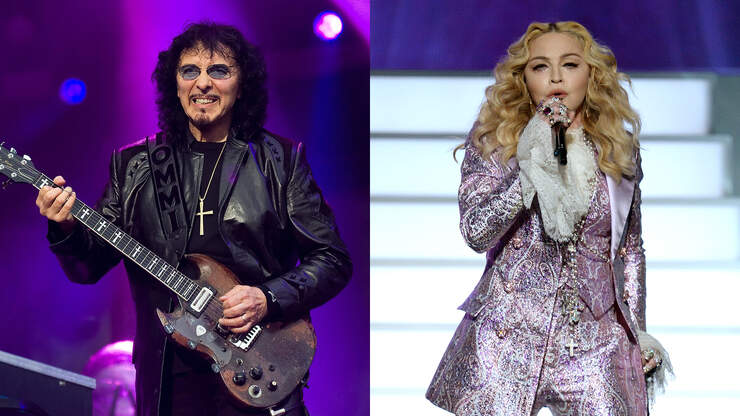 Tony Iommi Kicked Madonna Out Of Black Sabbath's Live Aid Rehearsal