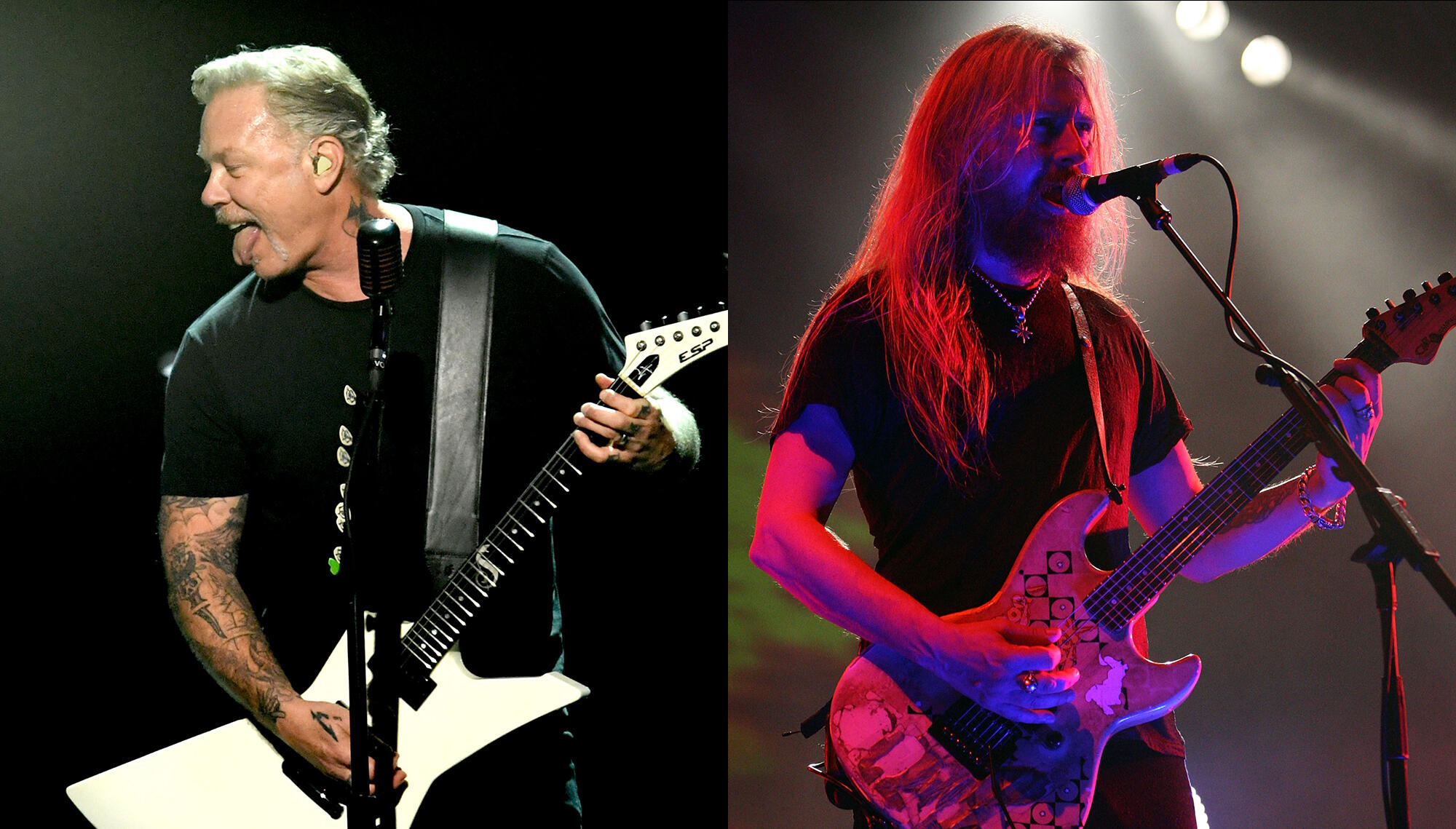 Jerry Cantrell Gushes Over How 'Inspiring' Metallica's James Hetfield Is