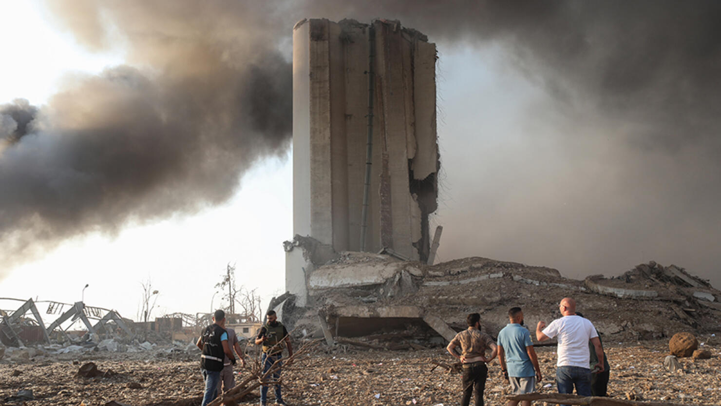 Large Explosion In Lebanon's Capital
