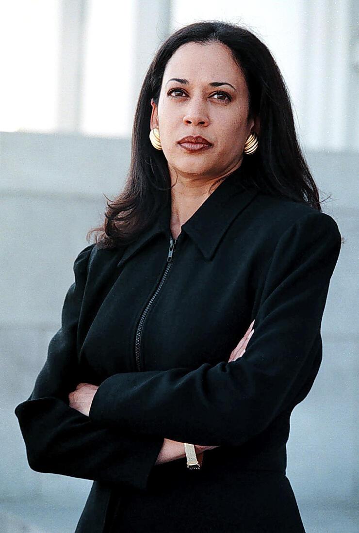 Alameda County deputy district attorney Kamala Harris