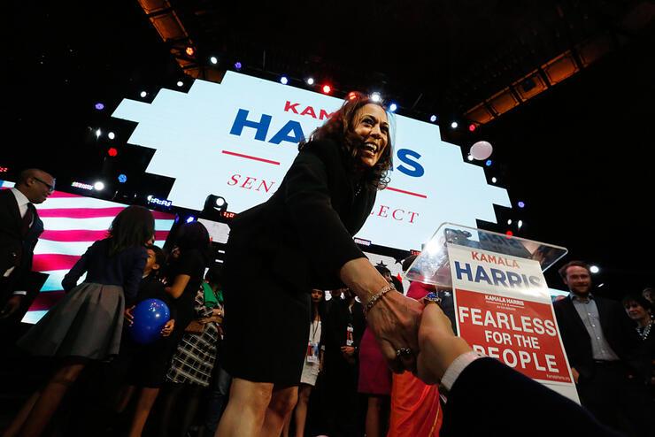 Kamala Harris Elected US Senator In California