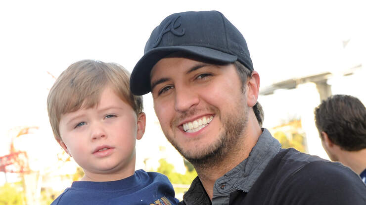 Luke Bryan's son gets sweetest surprise for 10th birthday