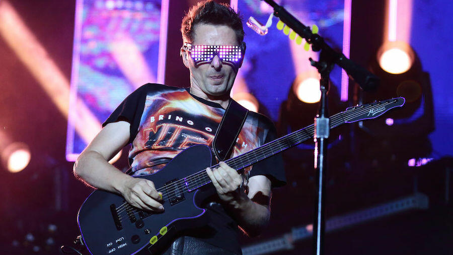Muse's Matt Bellamy Gifts Nandi Bushell His Signature Guitar