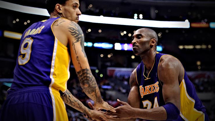 Former NBA Player Matt Barnes Shows Off Giant Kobe and Gianna Bryant Tattoo