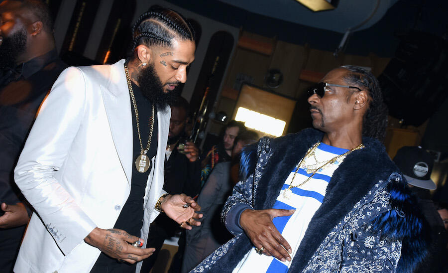 Snoop Dogg Honors Late Nipsey Hussle's Birthday With New Song 'Nipsey Blue'