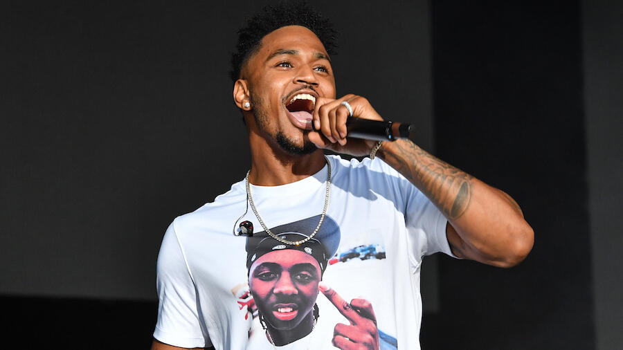 Trey Songz Shows Off Massive Arm Tattoo Dedicated To His Son Noah