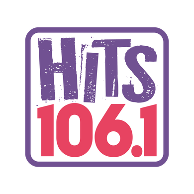 HITS 106.1 logo