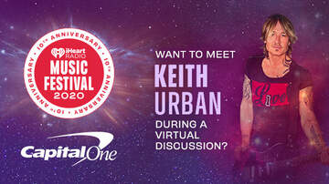 image for Capital One Cardholders, Meet Keith Urban During A Virtual Discussion