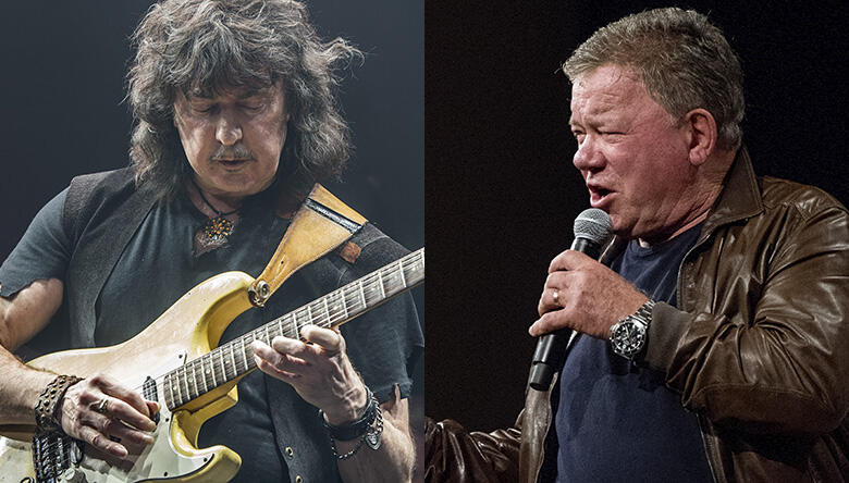 Listen To William Shatner Cover 'The Thrill Is Gone' With Ritchie Blackmore