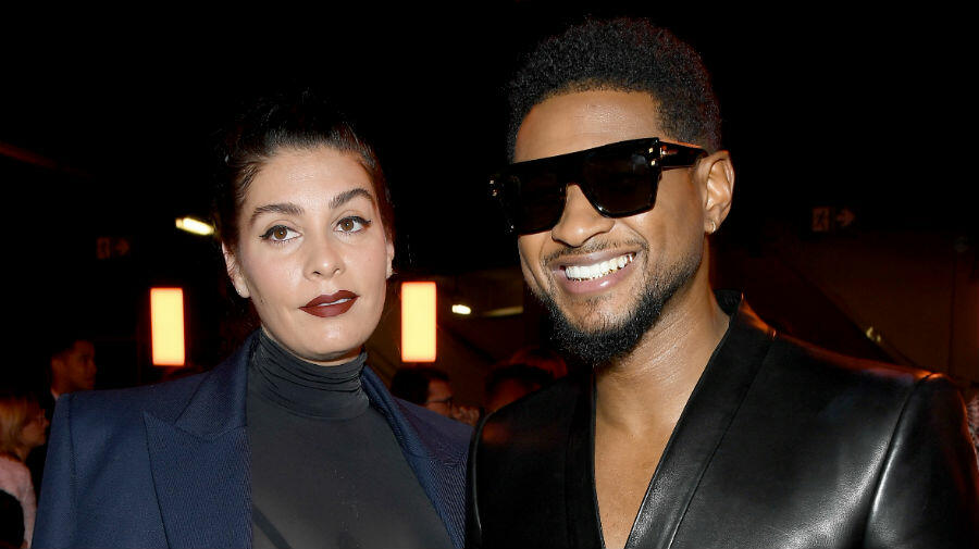 Usher Is Expecting First Baby With Girlfriend Jenn Goicoechea