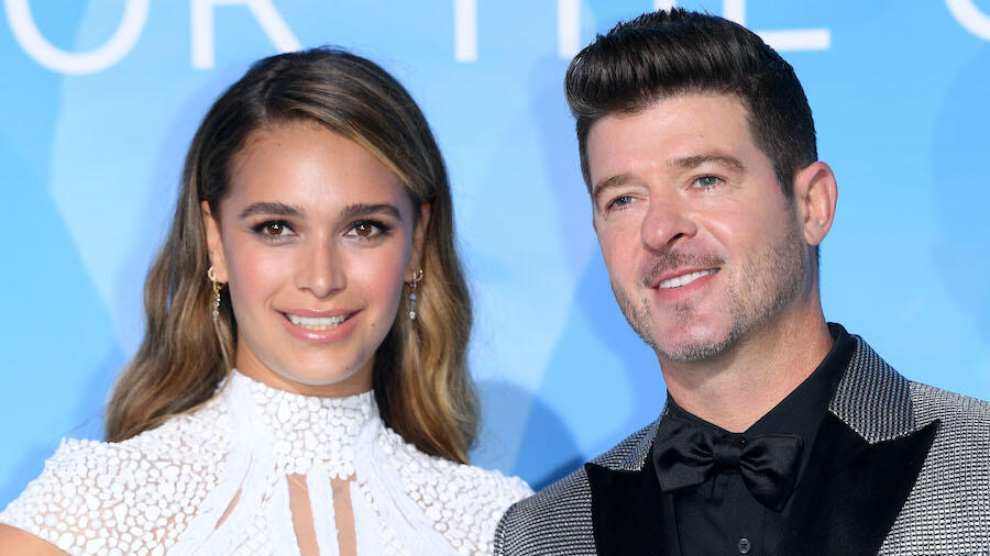 April Love Geary & Robin Thicke Expecting Baby No. 3!