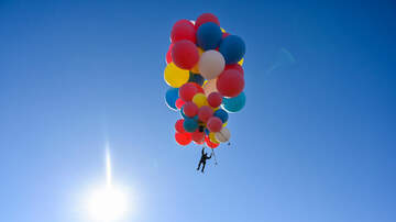 image for WATCH:  David Blaine recreate the movie Up!