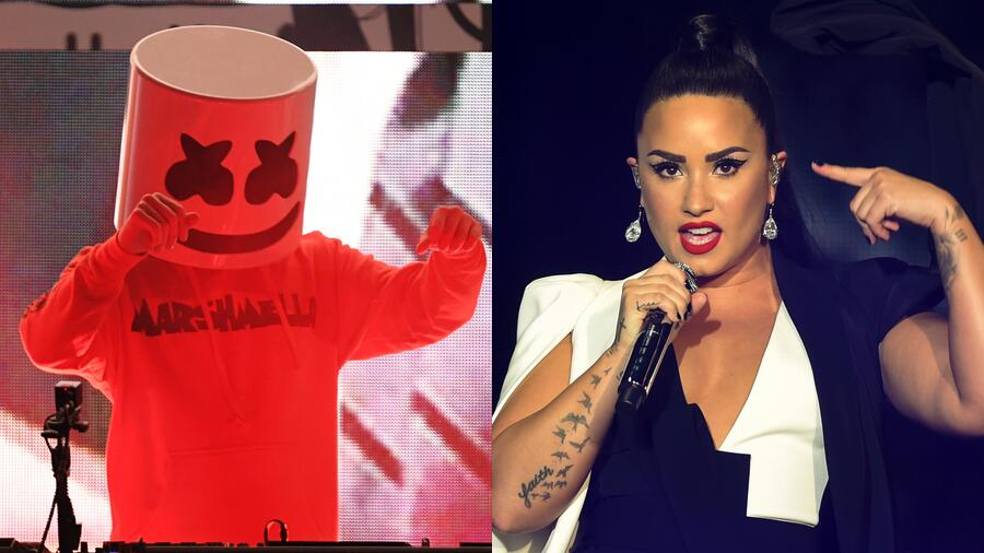 Marshmello Confirms Collaboration With Demi Lovato Is Coming Soon