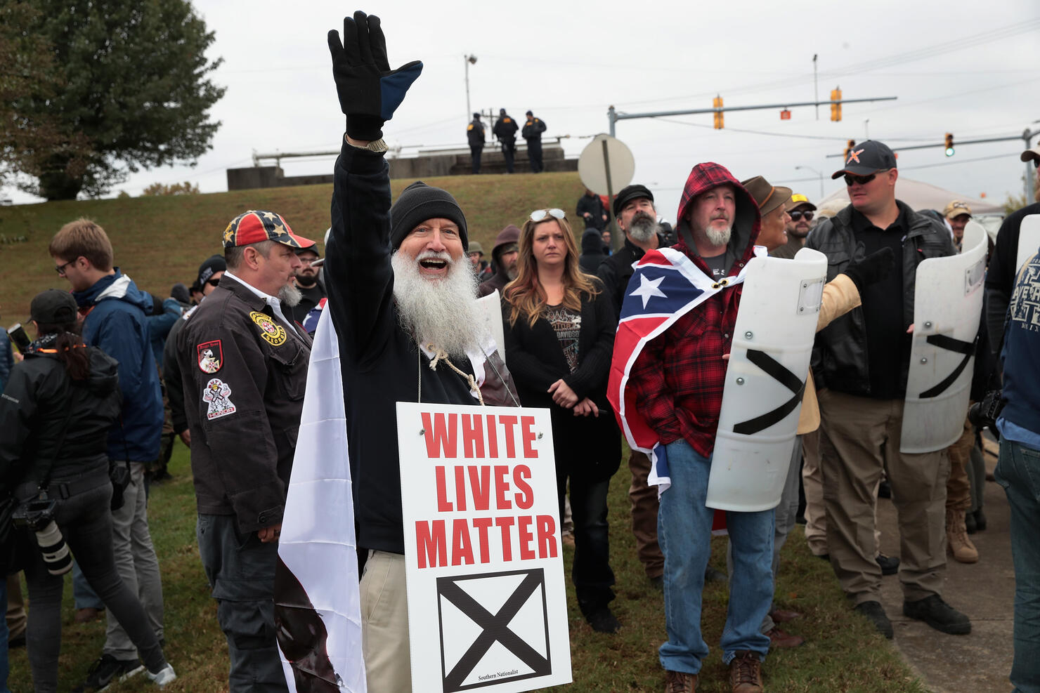 """White Nationalists Hold """"White Lives Matter"""" Rallies In Tennessee, Counter Protests Ensue"""
