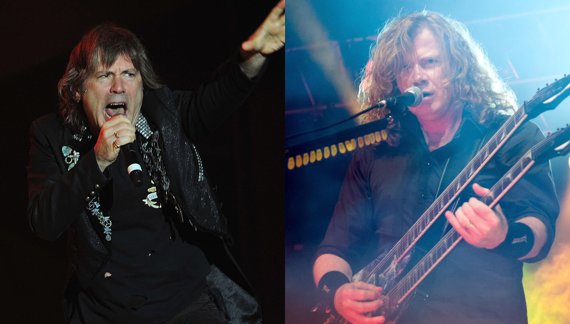 Dave Mustaine Bonded With Bruce Dickinson After Throat Cancer Ordeal