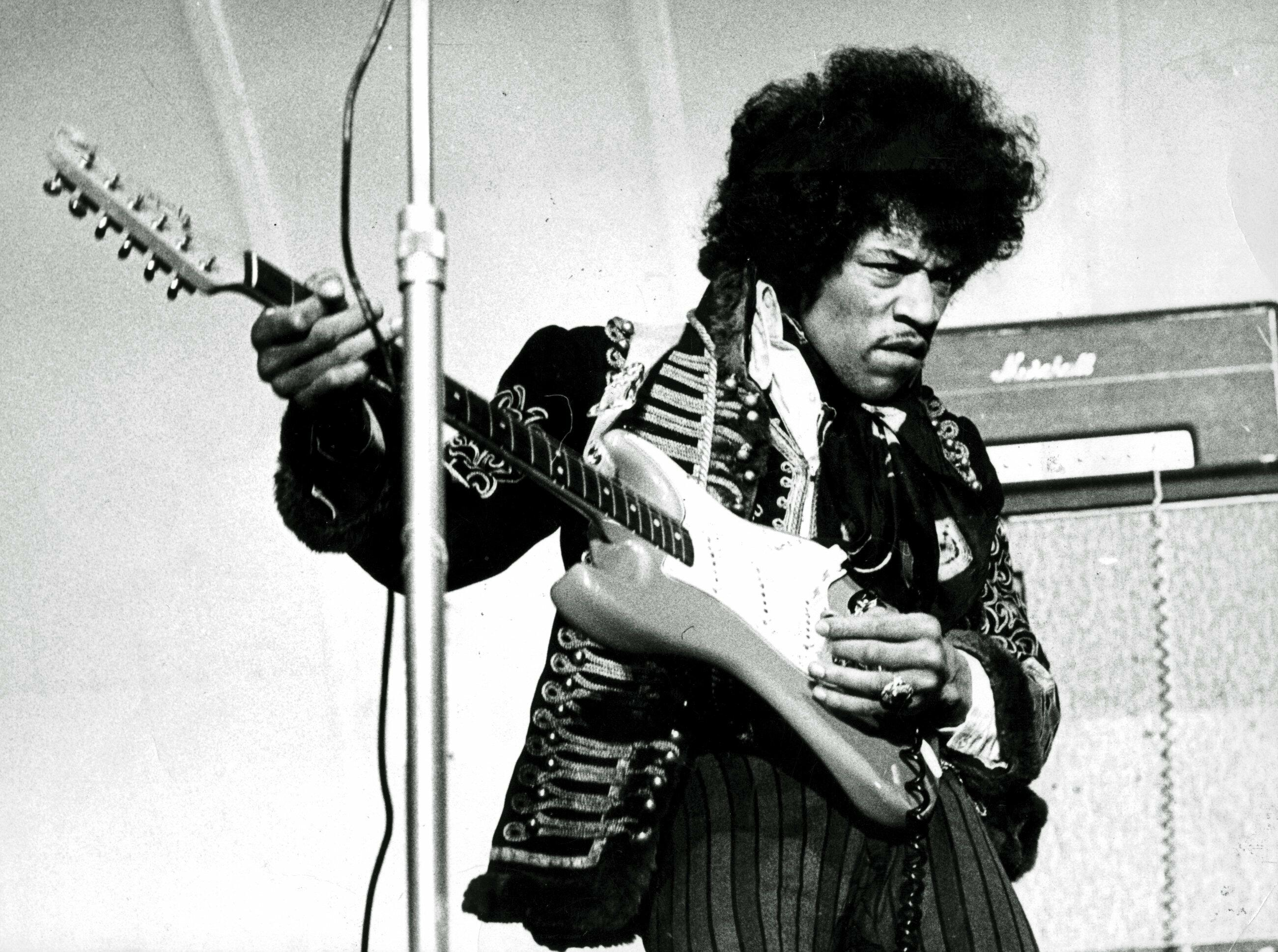 Jimi Hendrix's Strange Volcano-Side Maui Concert Documented In New Film