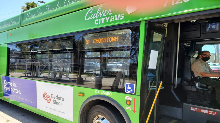 Culver CityBus to Resume Collection of Fees, Front-Door Boarding Today