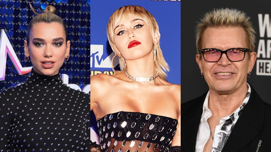 Miley Cyrus Confirms Dua Lipa, Billy Idol Appearances On Her New Album