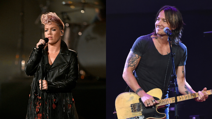 Keith Urban And P!nk To Debut 'One Too Many' Duet At 2020 ACM Awards