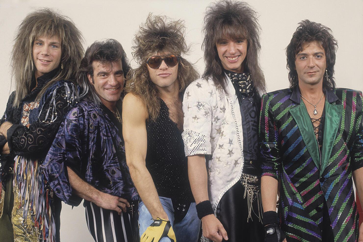 Portrait Of Bon Jovi