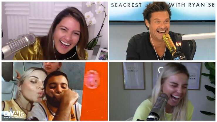 Seacrest Tracks Down Man Tanya Tried to Virtually Kiss During Lakers Game