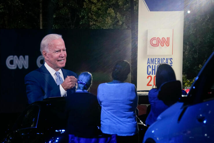 Presidential Candidate Joe Biden Participates In CNN Town Hall