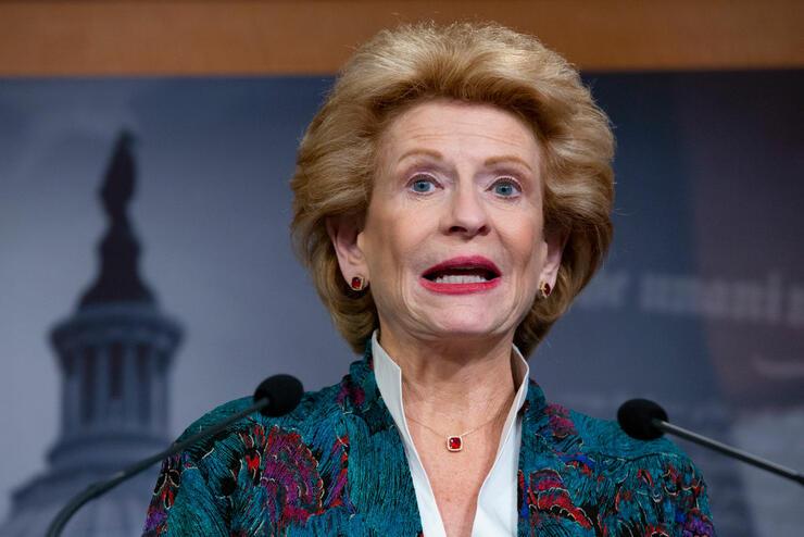 Democratic Senator Debbie Stabenow