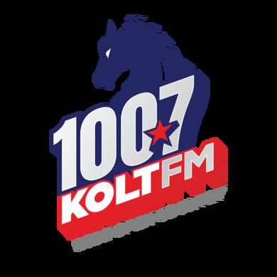 100.7 KOLT FM logo