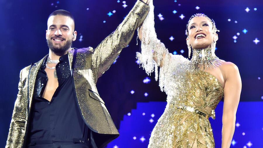 Jennifer Lopez & Maluma Appear To Kiss In New Music Video Teaser