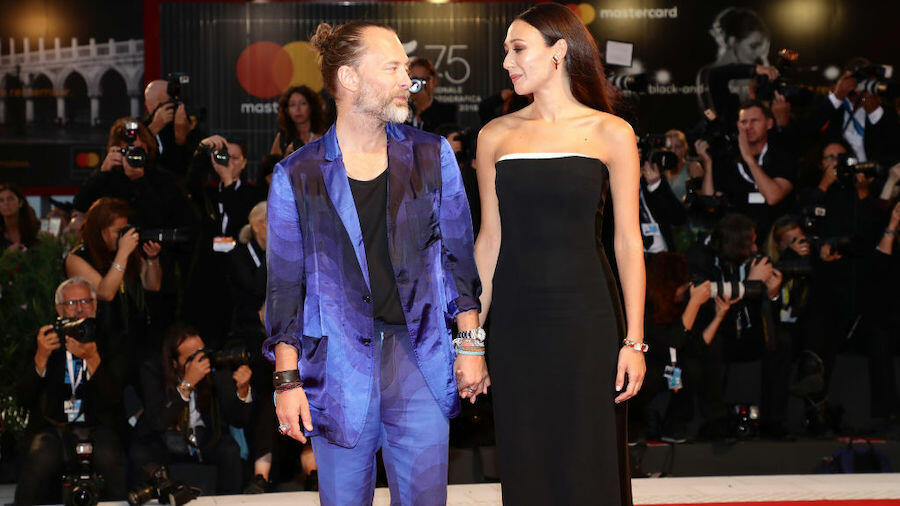 Thom Yorke And Dajana Roncione Got Married Over The Weekend