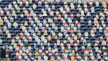 image for Broncos Fill End Zone Seats With South Park Character Cutouts