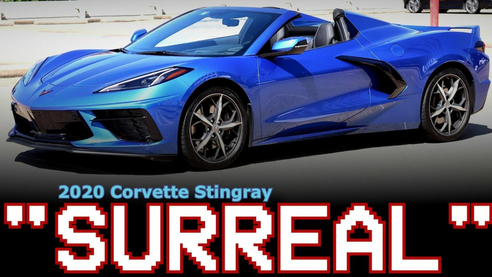 VIDEO   Stung by the new 2020 Corvette Stingray